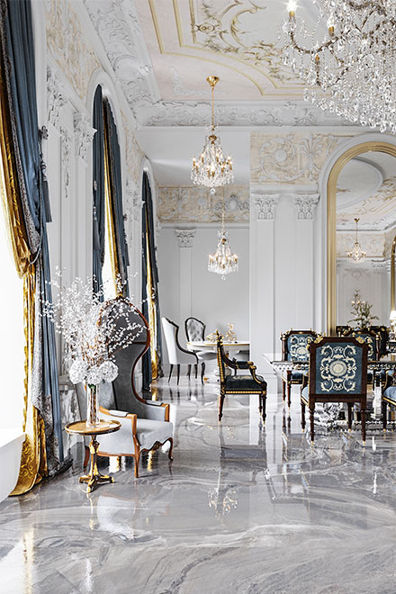 astonishing interiors for classic beauty adorers