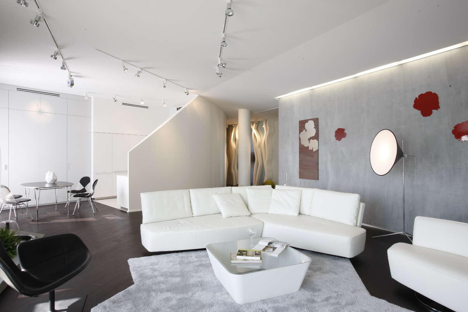 Дизайн интерьера квартиры 218 кв.м.