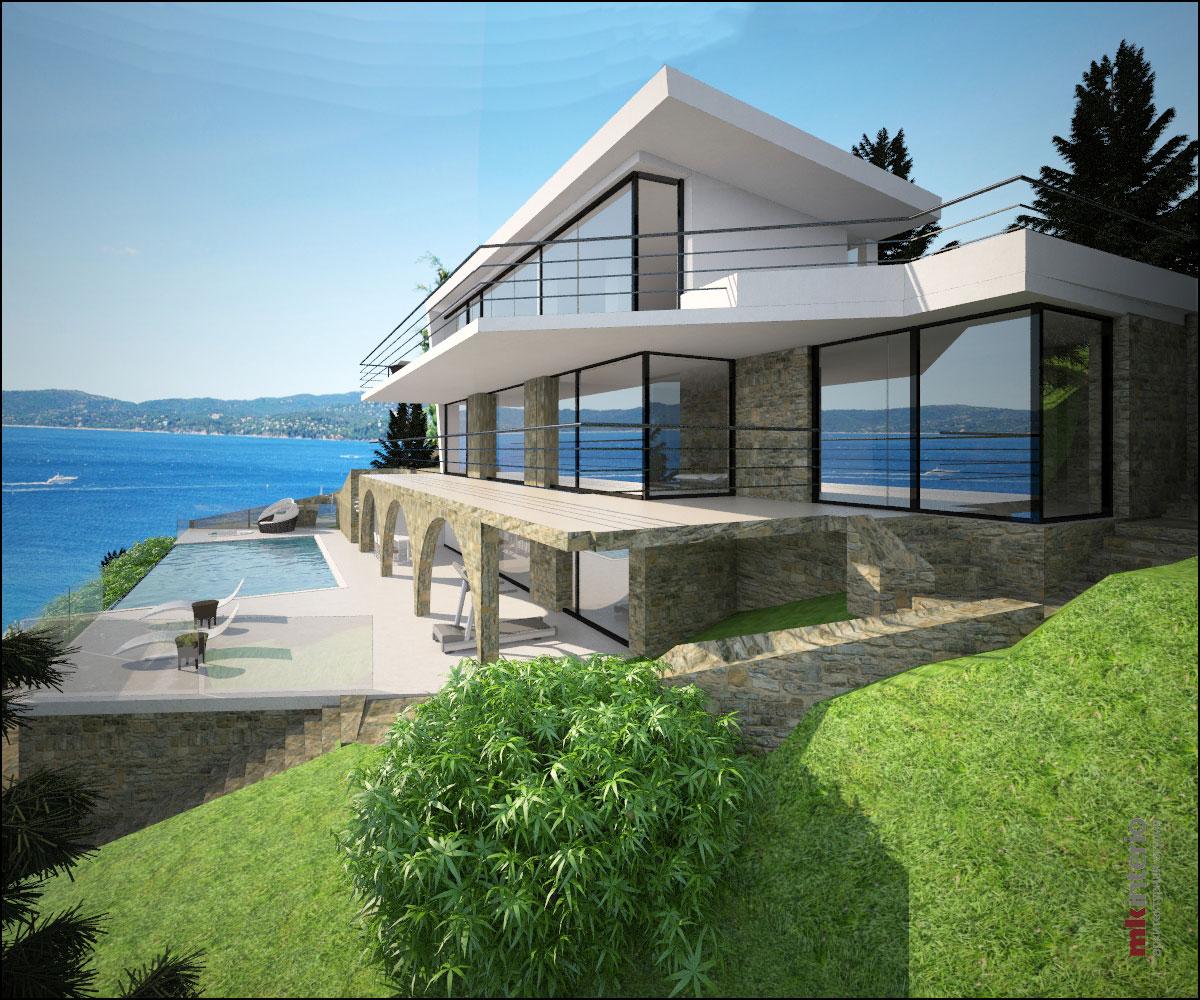 Архитектурный проект и дизайн интерьеров виллы