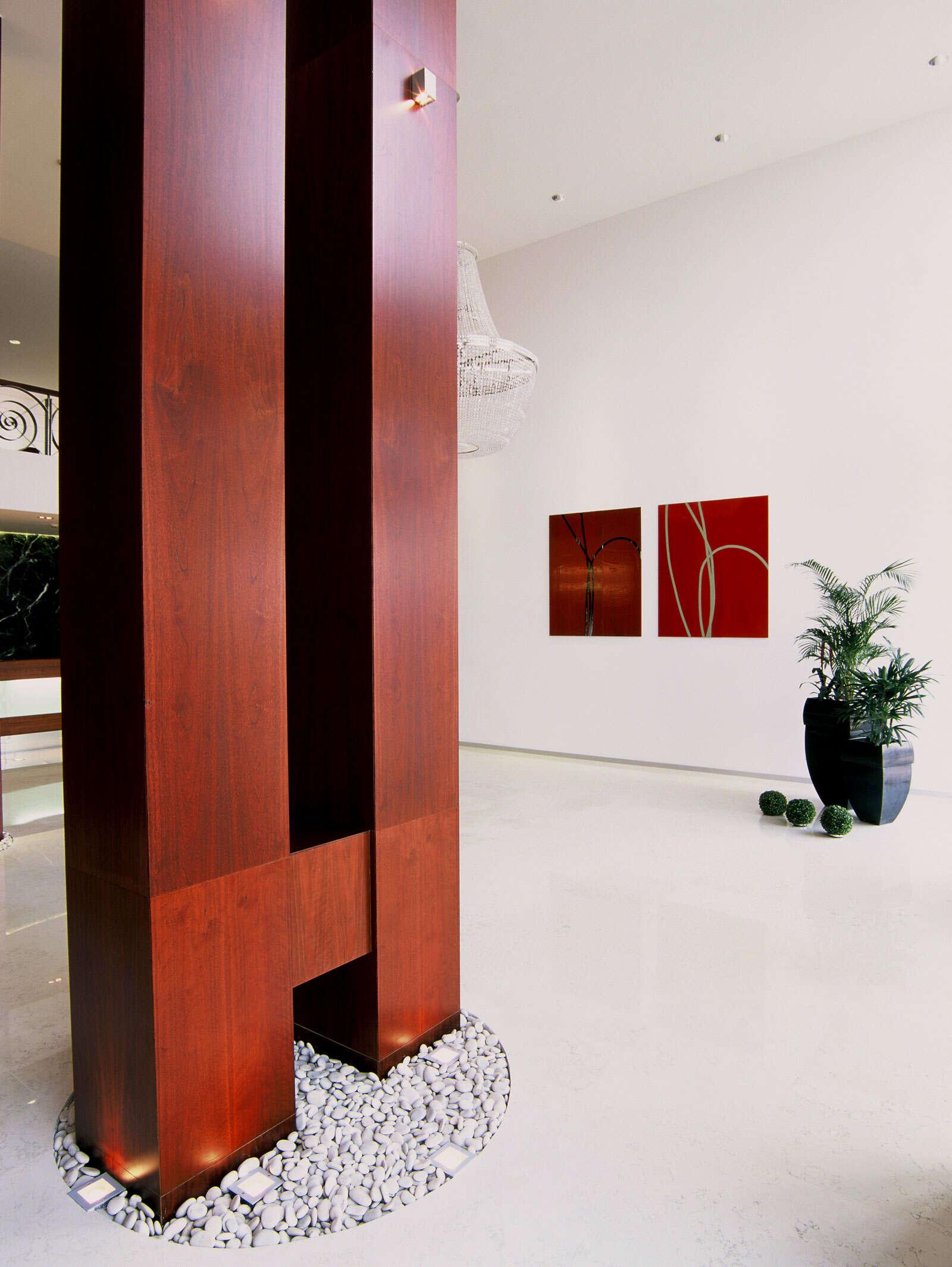 Дизайн интерьера элитного жилого комплекса 4000 кв.м.