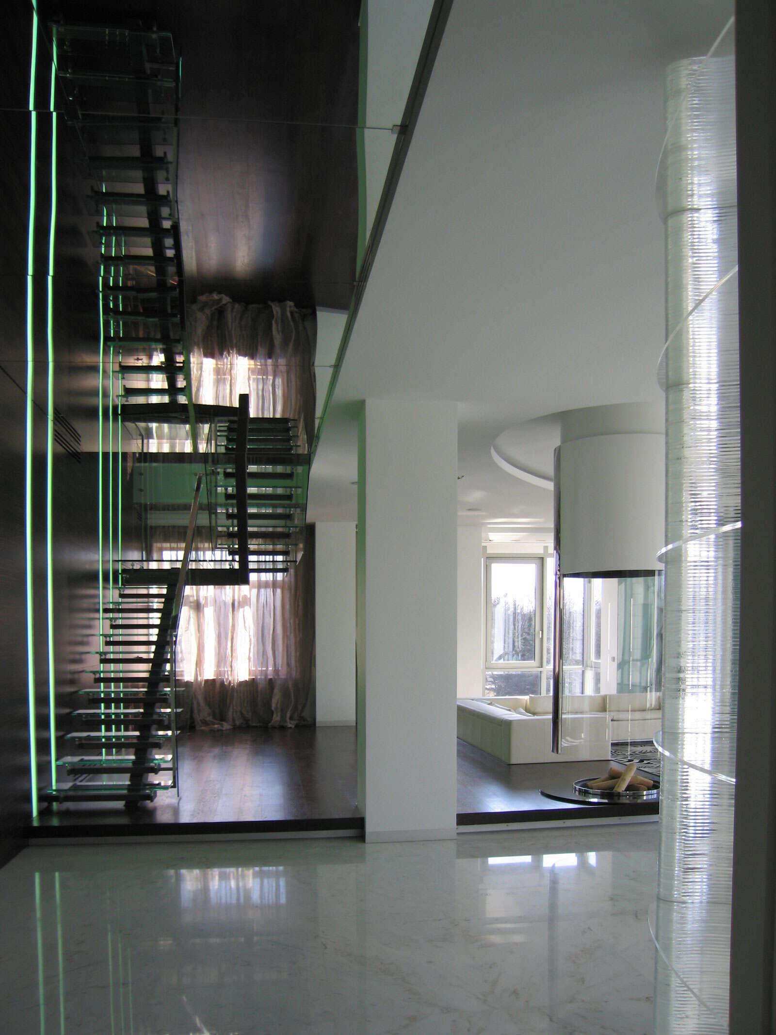 Дизайн интерьера квартиры 600 кв.м.
