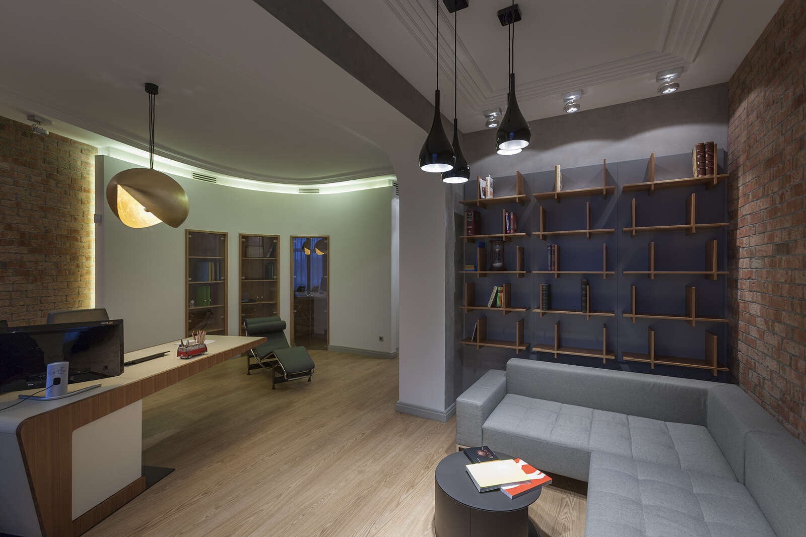 Дизайн интерьера офиса 156 кв.м.