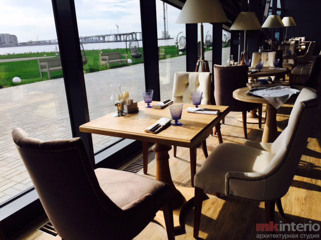 Дизайн интерьера ресторана 1400 кв.м.