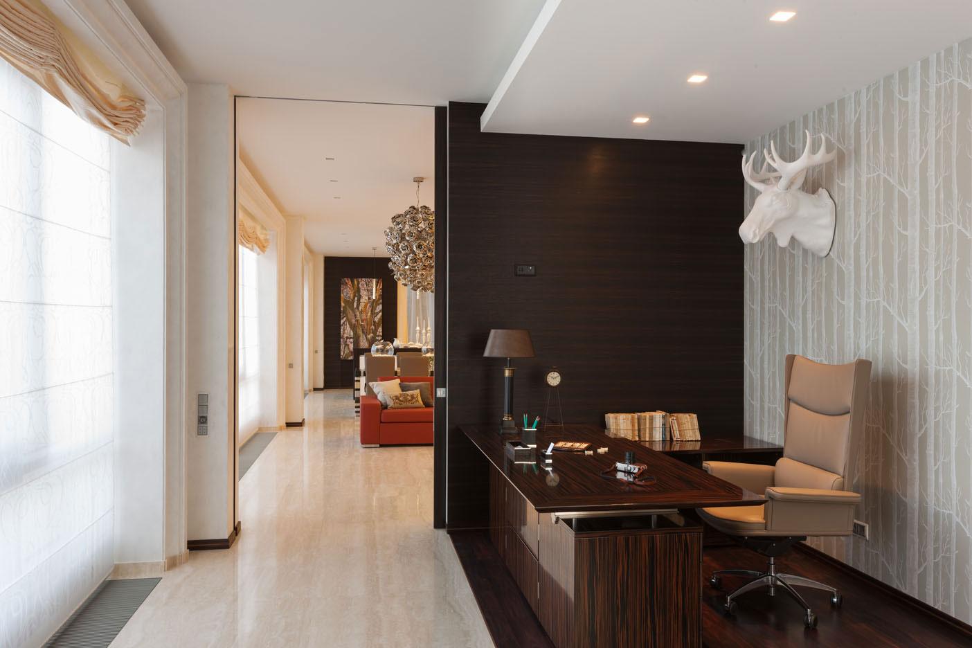 Дизайн интерьера квартиры 289 кв.м.