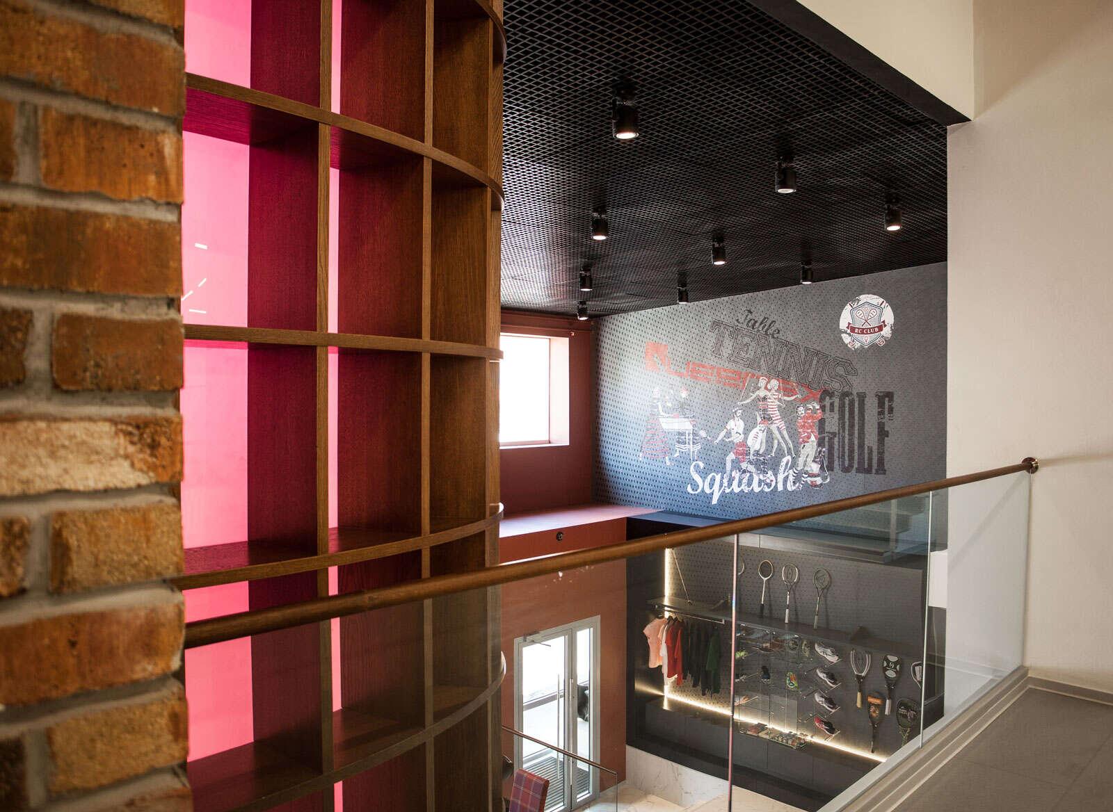 Дизайн интерьеров спортивного клуба 1200 кв.м.