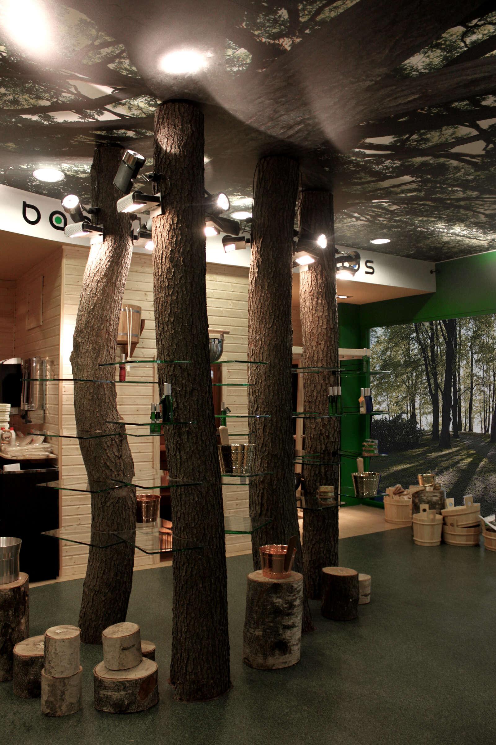 Дизайн интерьеров магазина 95 кв.м.