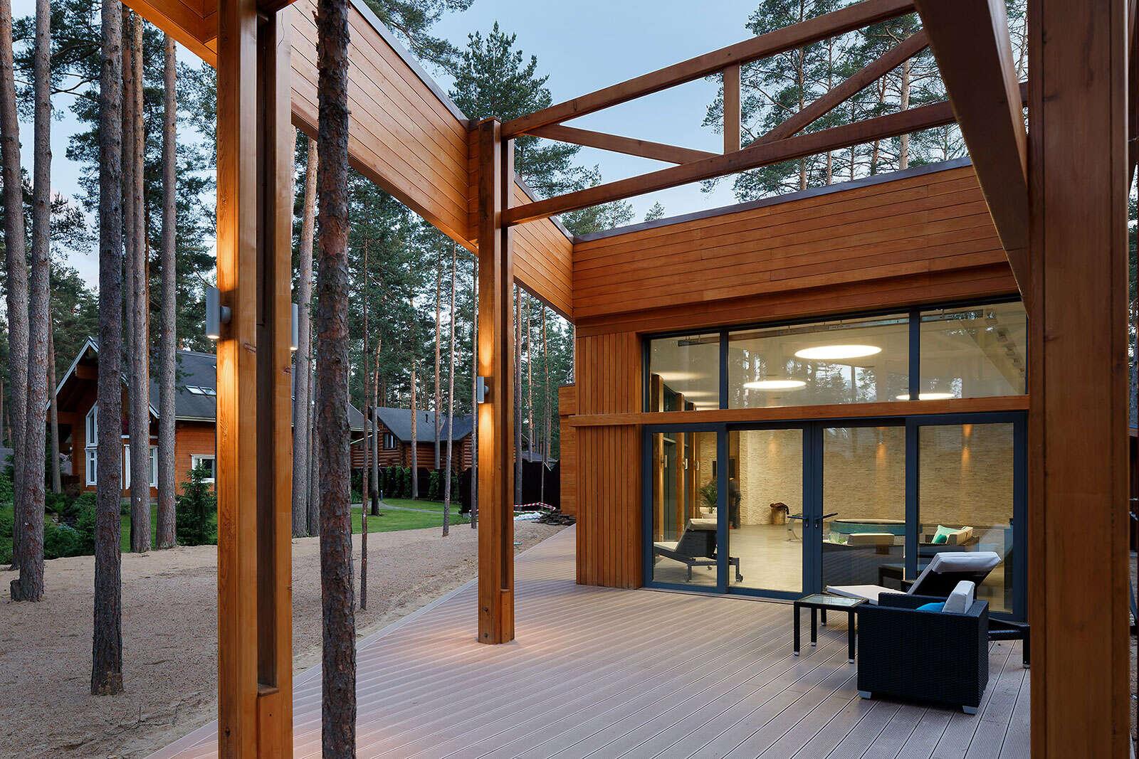 Архитектурный проект и дизайн интерьера СПА-комплекса 280 кв.м.