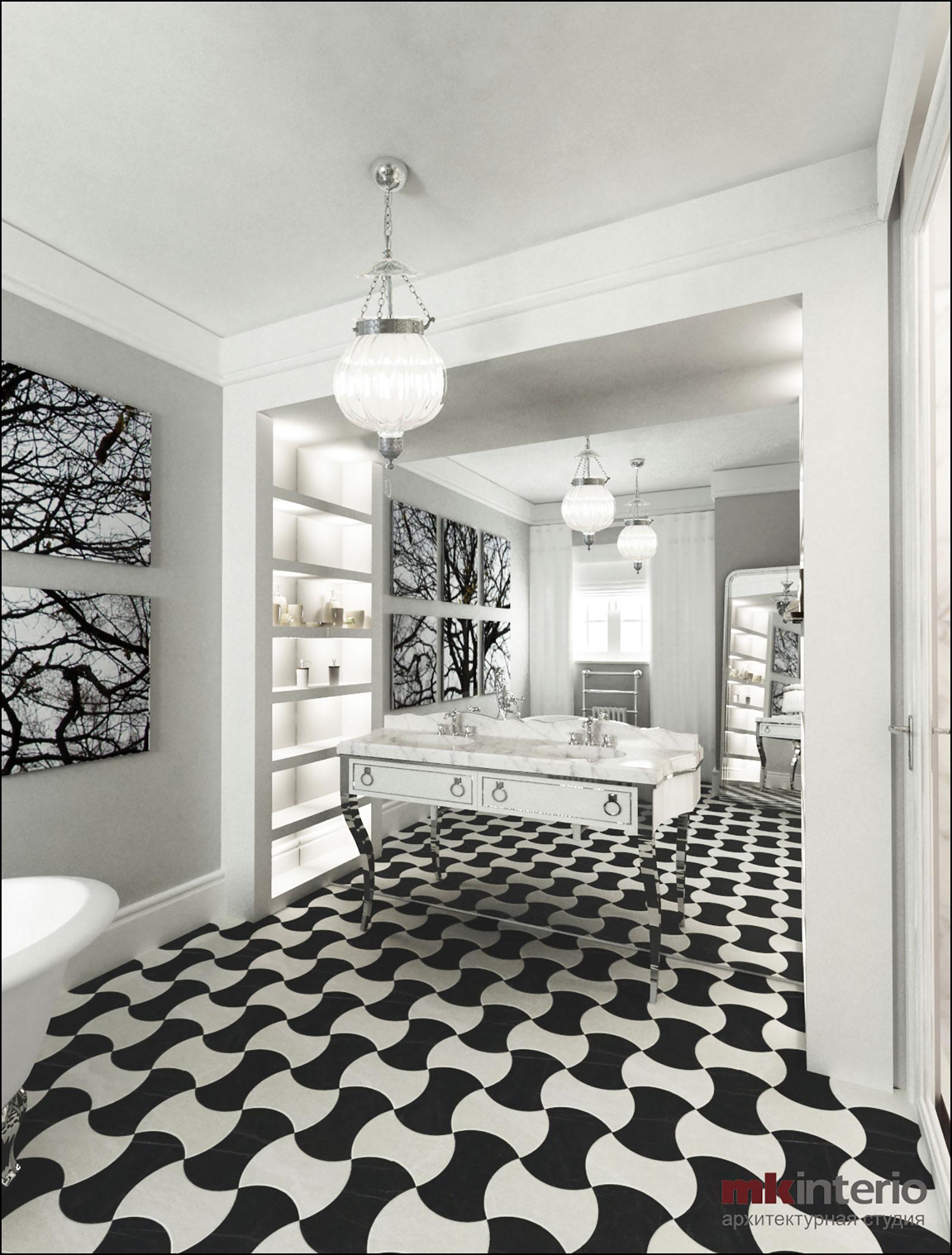 Дизайн интерьера дома 500 кв.м.