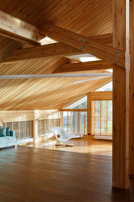 Проектирование деревянных жилых домов