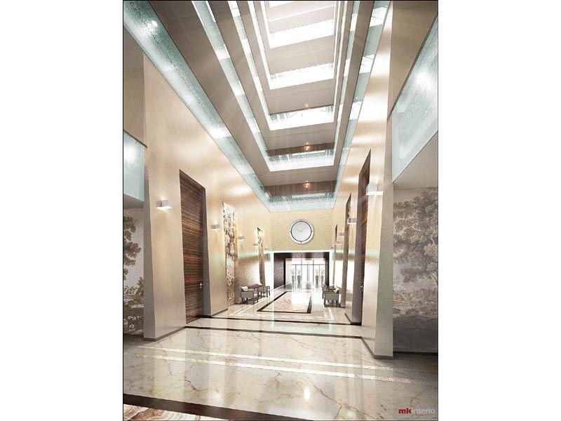 Проект интерьера элитного жилого комплекса 1078 кв.м.
