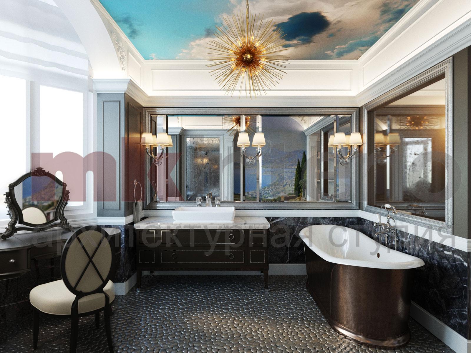 Дизайн интерьера квартиры 200 кв.м.
