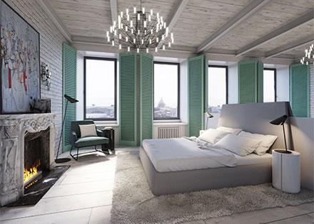 интерьеры квартиры в современном стиле