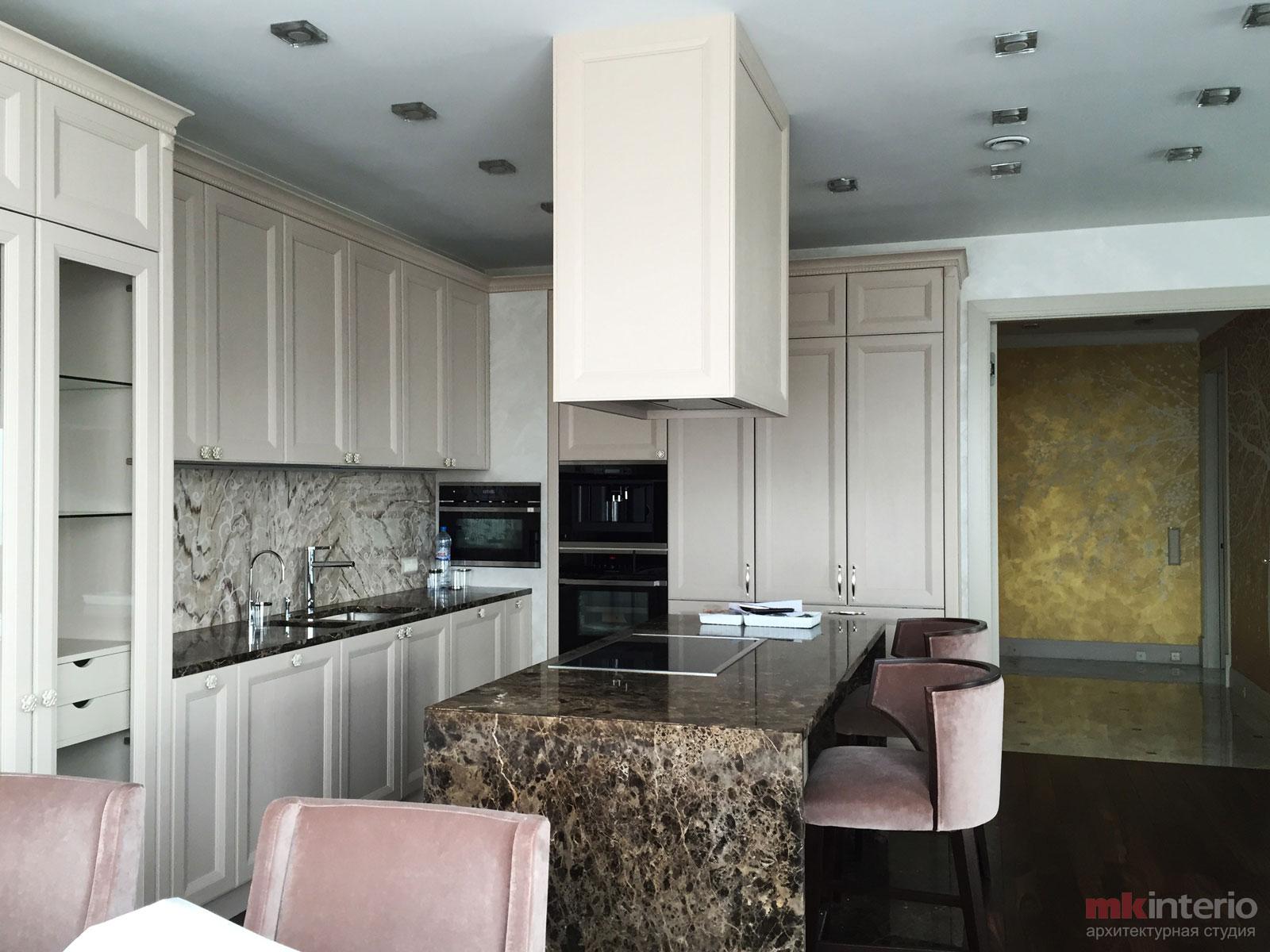 Дизайн интерьера квартиры 230 кв.м.