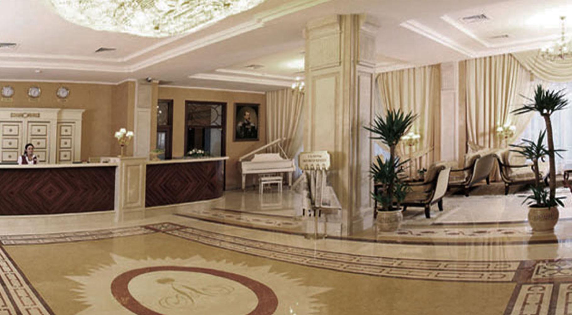 Дизайн интерьера гранд-отеля 1685 кв.м.