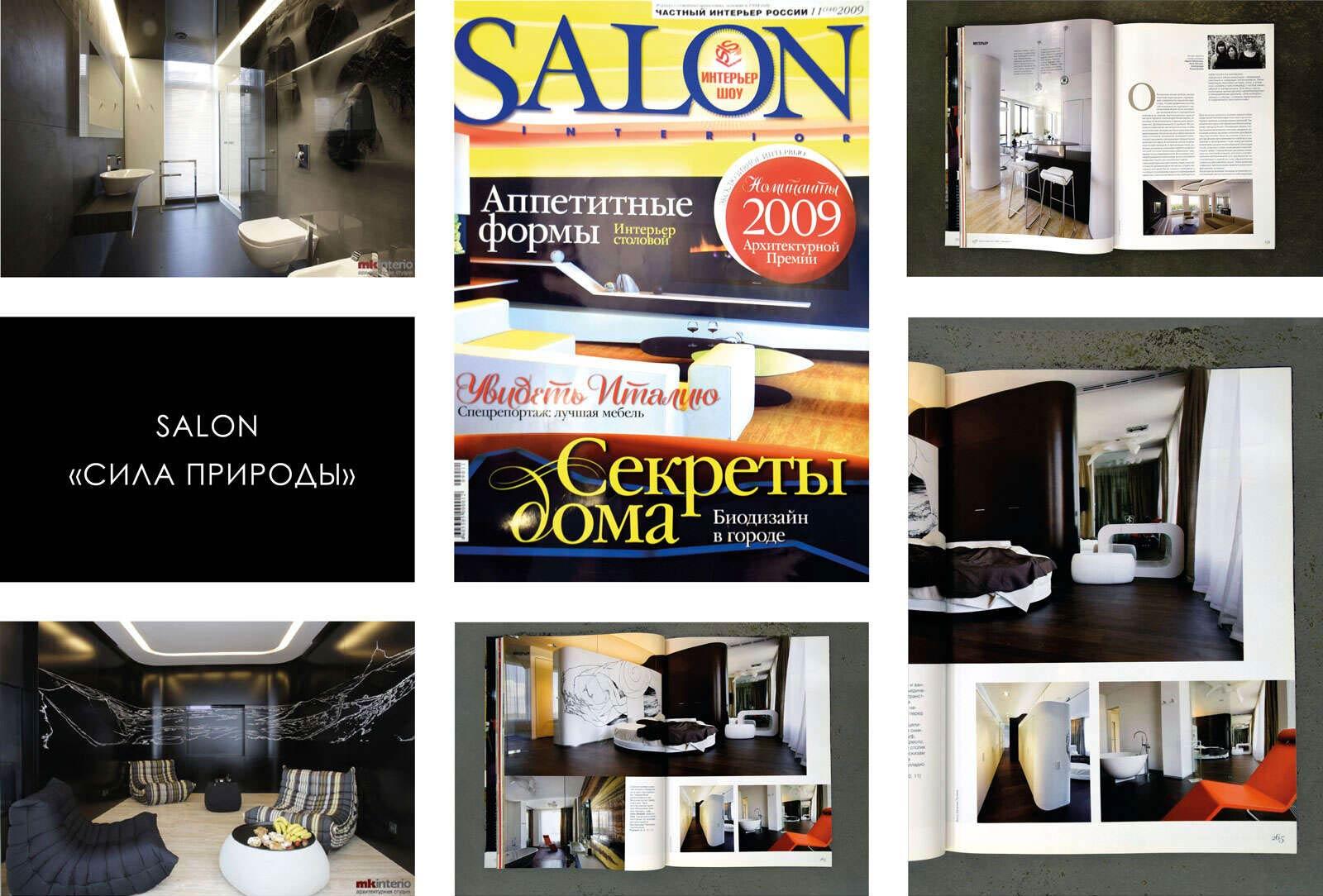 Интерьер подчеркивает красоту природы. Salon №11(144) 2009
