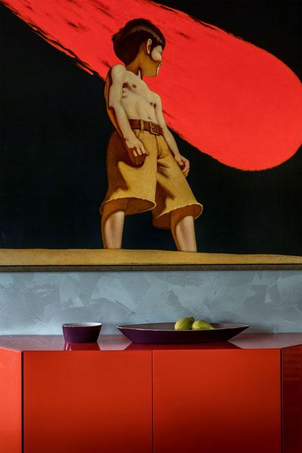современное искусство в интерьерах