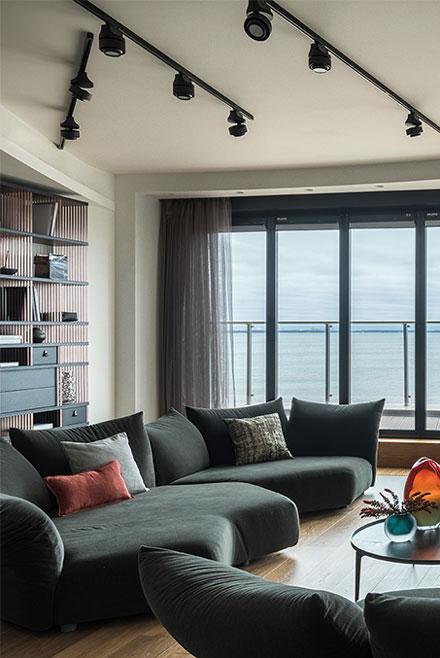 живописный вид из окна - основа дизайн-концепции